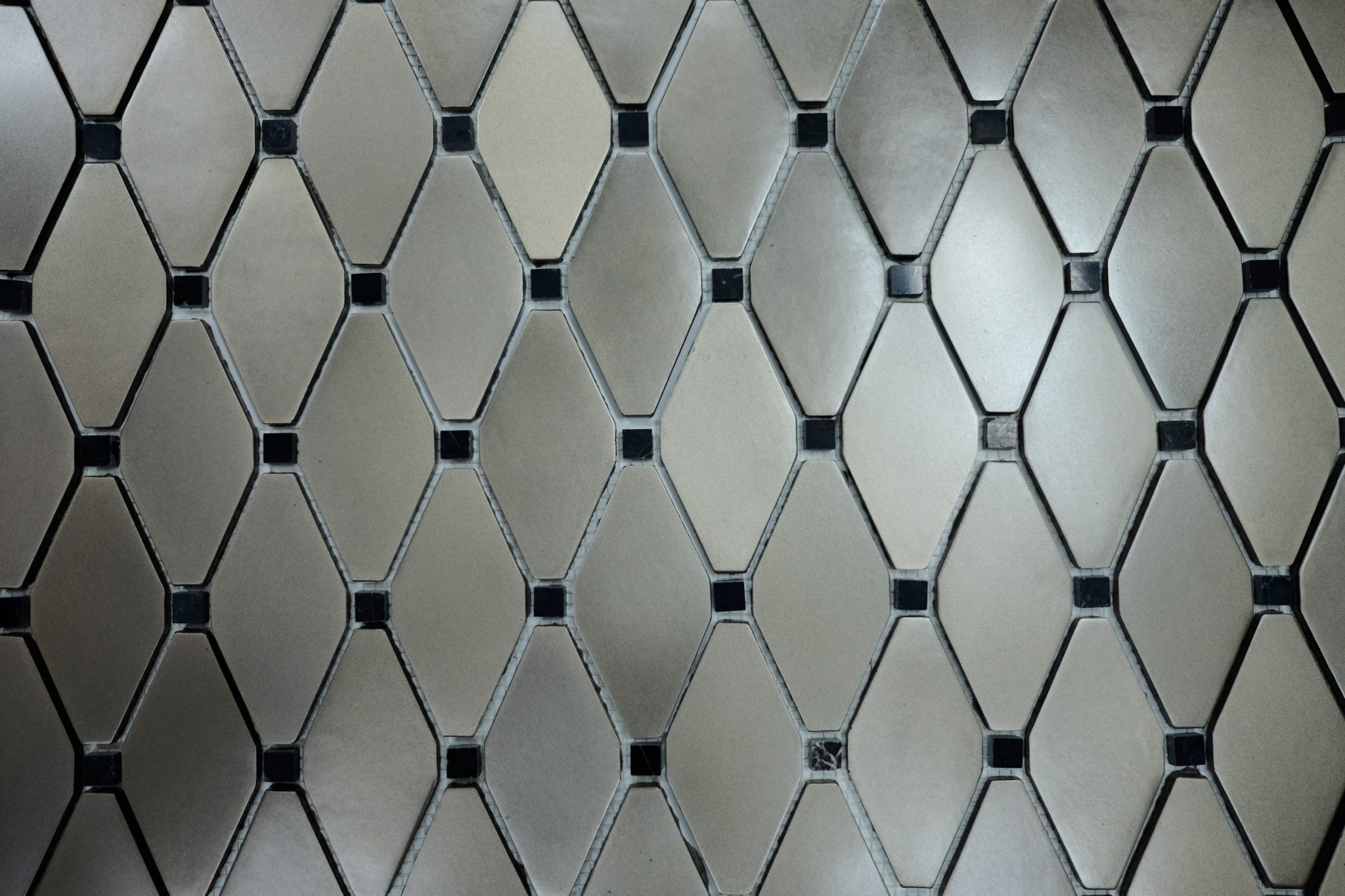 Satin Nickel Clipped Diamond - Tile Outlet Chicago