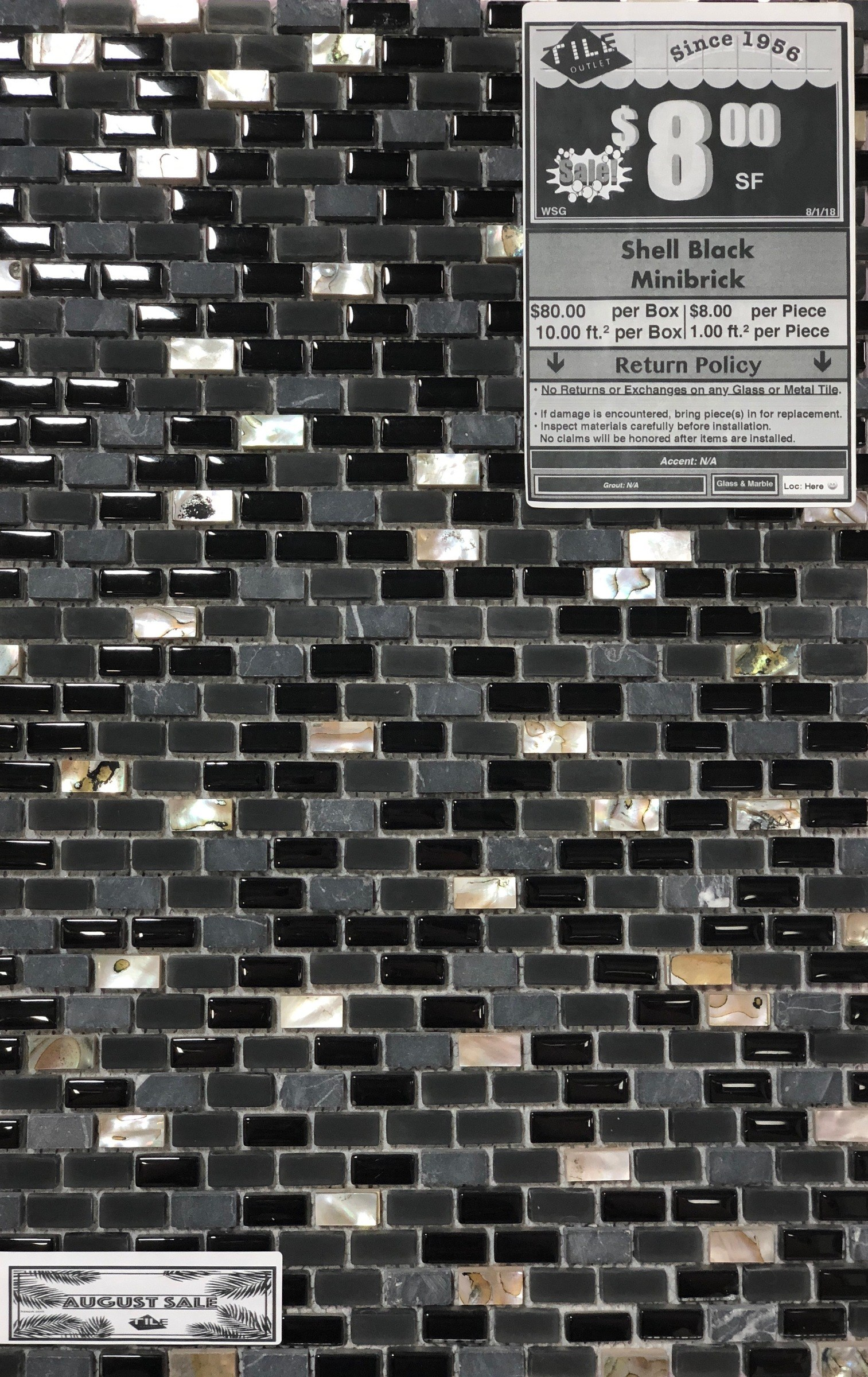 Photo of Shell Black Minibrick